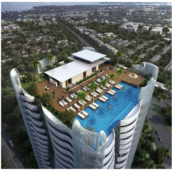 ROOFTOP GARDEN AND SWIMMING POOL
